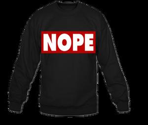 Image of NOPE *BLACK*