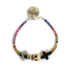 Image of Crossed Lover Bracelet (Rainbow 4.0)