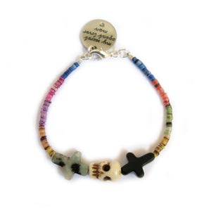 Image of Crossed Lover Bracelet (Rainbow 4.0)