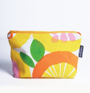 Image of Screenprinted fabric pouch