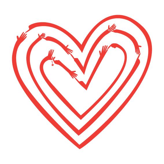 BSL 'I love you' heart / We love BSL