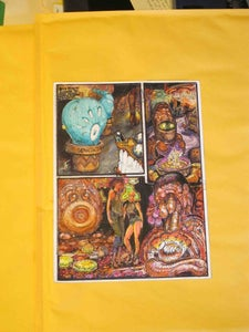 Image of Original Paul Komoda Comic book page