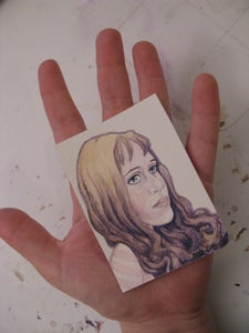 Image of Custom Portrait - Small Watercolor