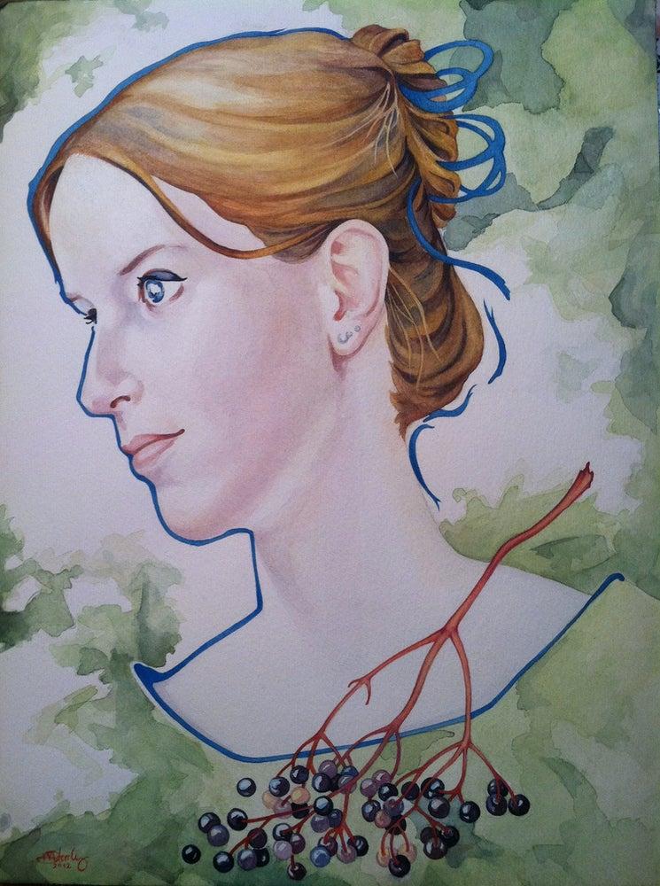 Image of Custom Portrait -Large Watercolor