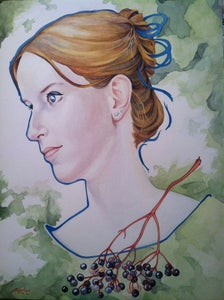 Image of Custom Portrait -Large Watercolor