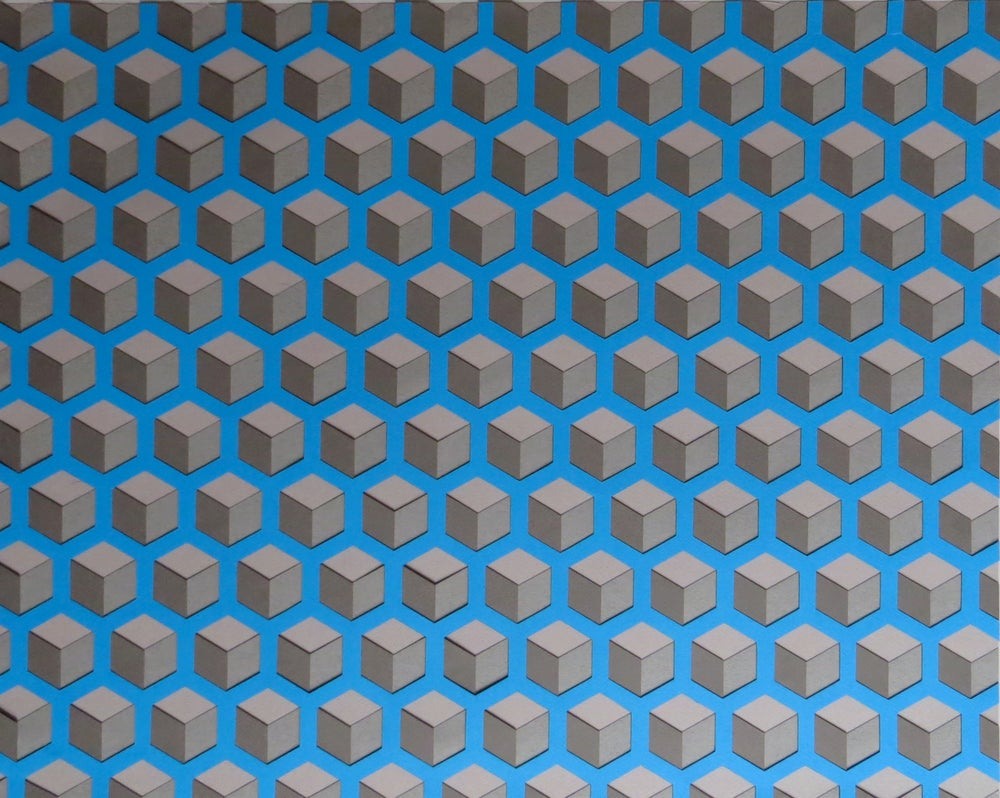 Image of Blue Cubes