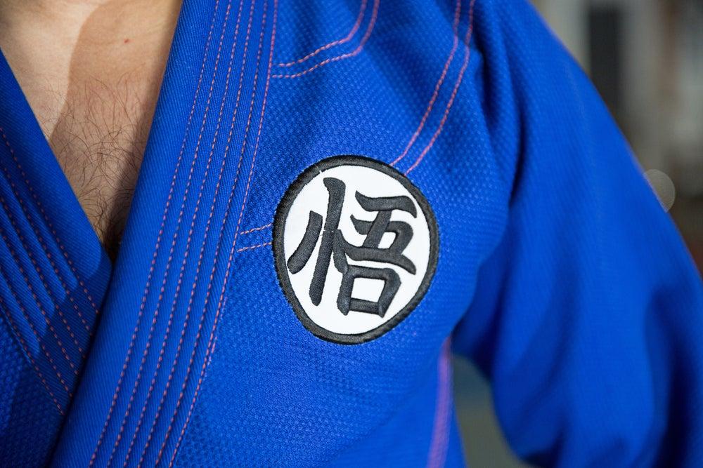 Image of Saiya-jin Dogi (Blue)