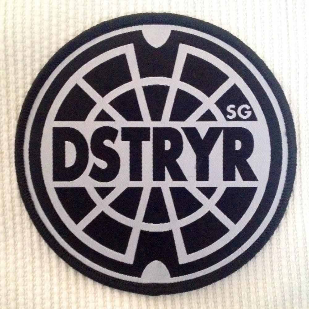 Image of DSTRYR/SG EMBROIDERED LOGO PATCH