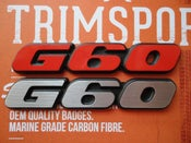 Image of Trimsport VW Corrado G60 Rear Badge
