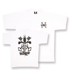 Image of Crest - White T-Shirt - 50% OFF!
