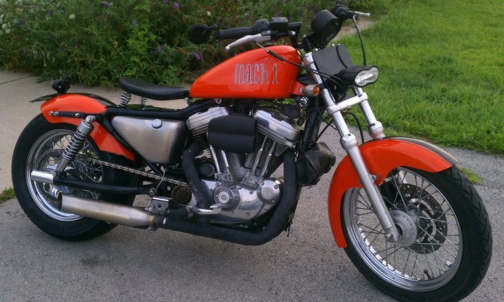 Image of SPORTSTER SWINGARM KIT