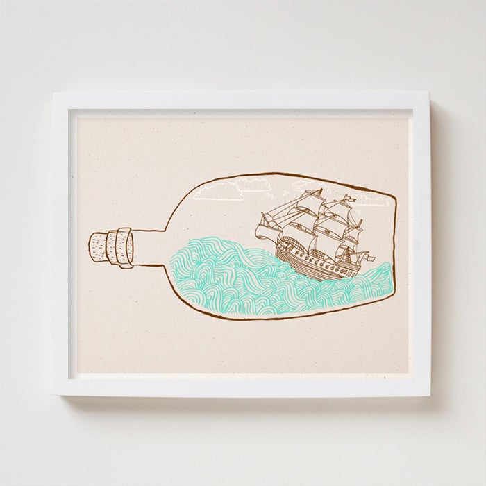 Image of The Original Ship in a Bottle