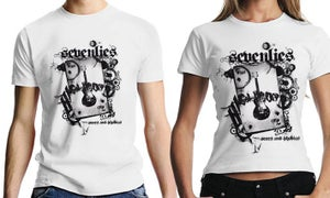 "Image of T-Shirt ""scars & phobias"" (girlie)"
