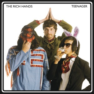 Image of FTN-011 - The Rich Hands - Teenager b/w Jumpin' Jack Flash (WHITE VINYL)
