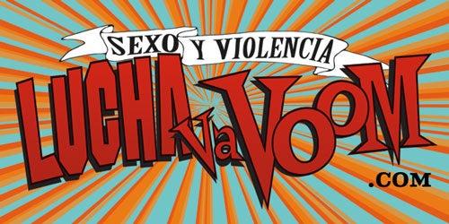 Image of Lucha VaVOOM Sticker