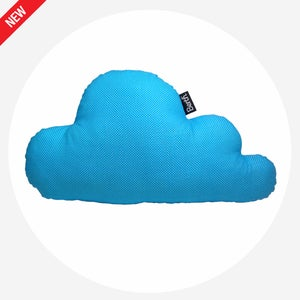 Image of PILLOW CLOUD Light Blue Dots