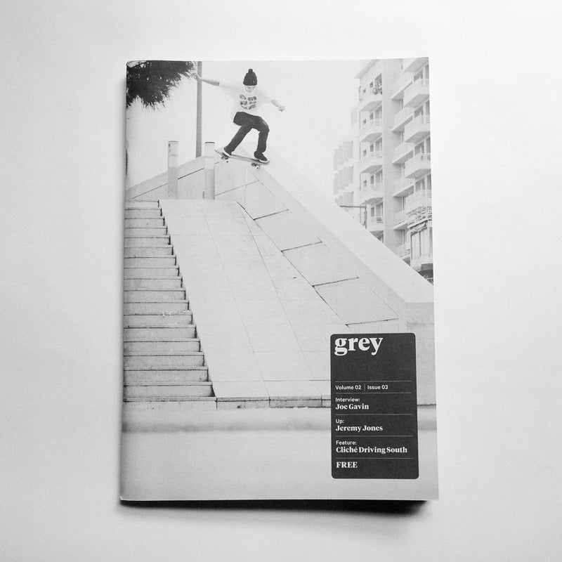 Image of grey skate mag volume 02 issue 03