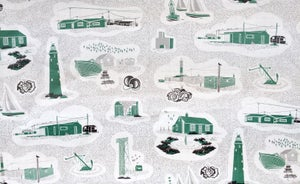 Image of Dungeness Linen Fabric - Coach Emerald