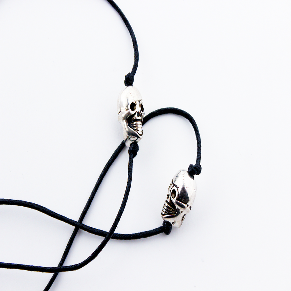 Image of ROCK-IT SKULLS Earpiece Holder Necklace