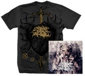Image of Heart T-Shirt (Grey) + Pharmakos CD