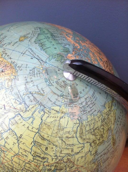 Image of Art Deco Globe
