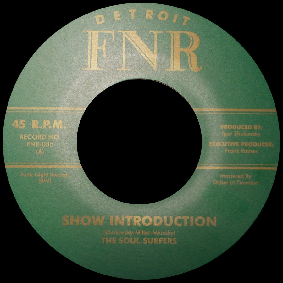 Image of  FNR-035 THE SOUL SURFERS