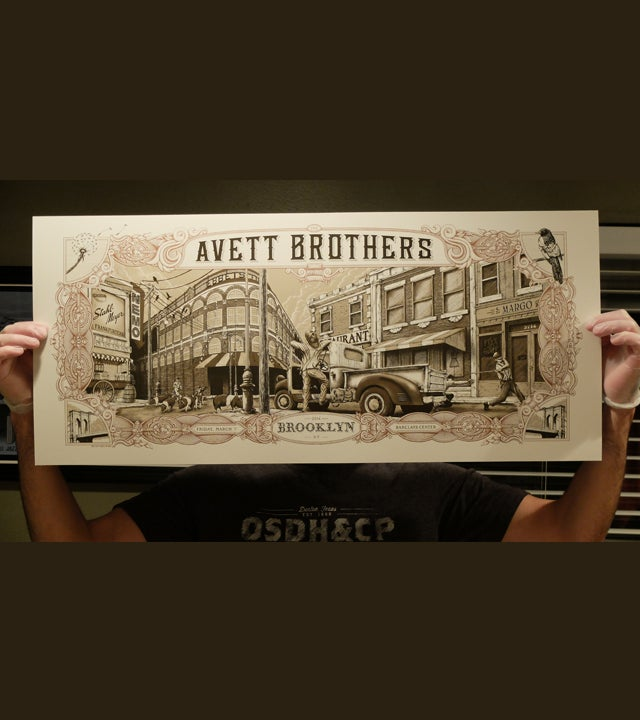 Image of Avett Brothers Brooklyn 2014