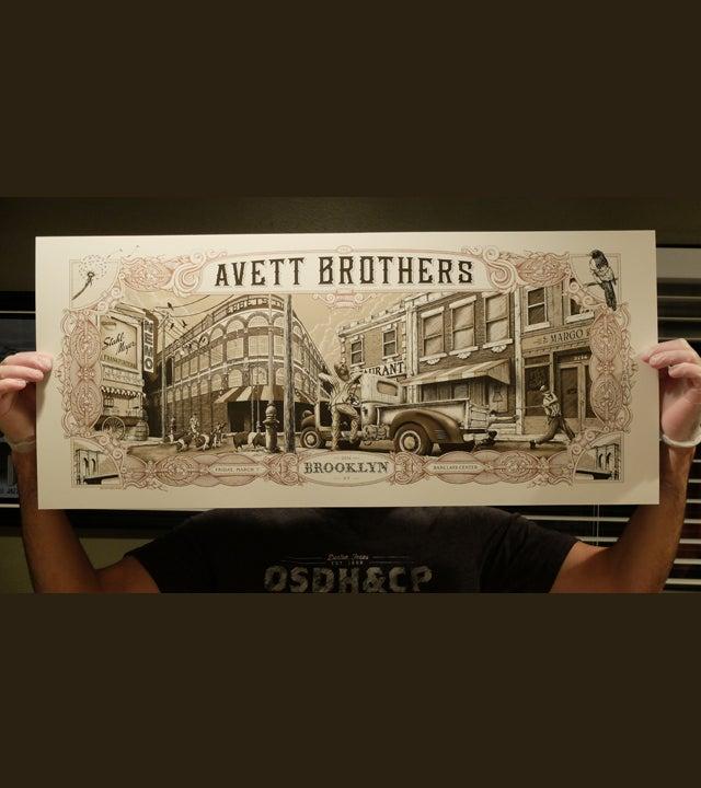 Image of Avett Brothers Brooklyn 2014