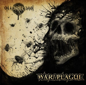 "Image of WAR//PLAGUE ""On a Darker Dawn"" l.p."