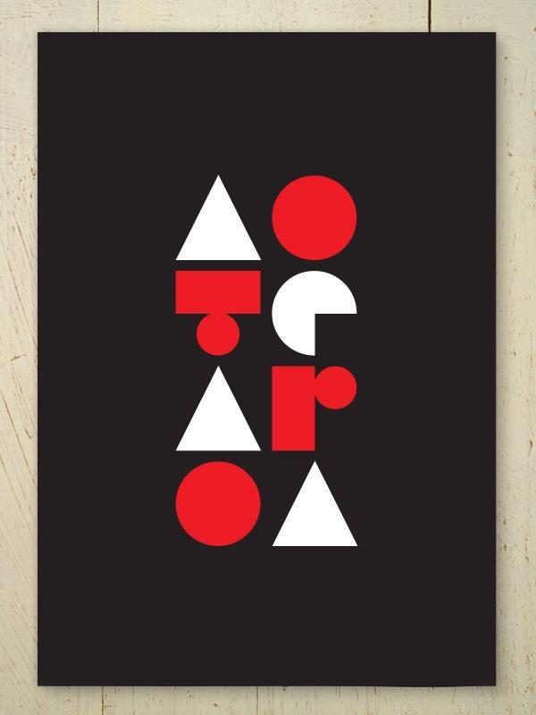 Image of Aotearoa art print