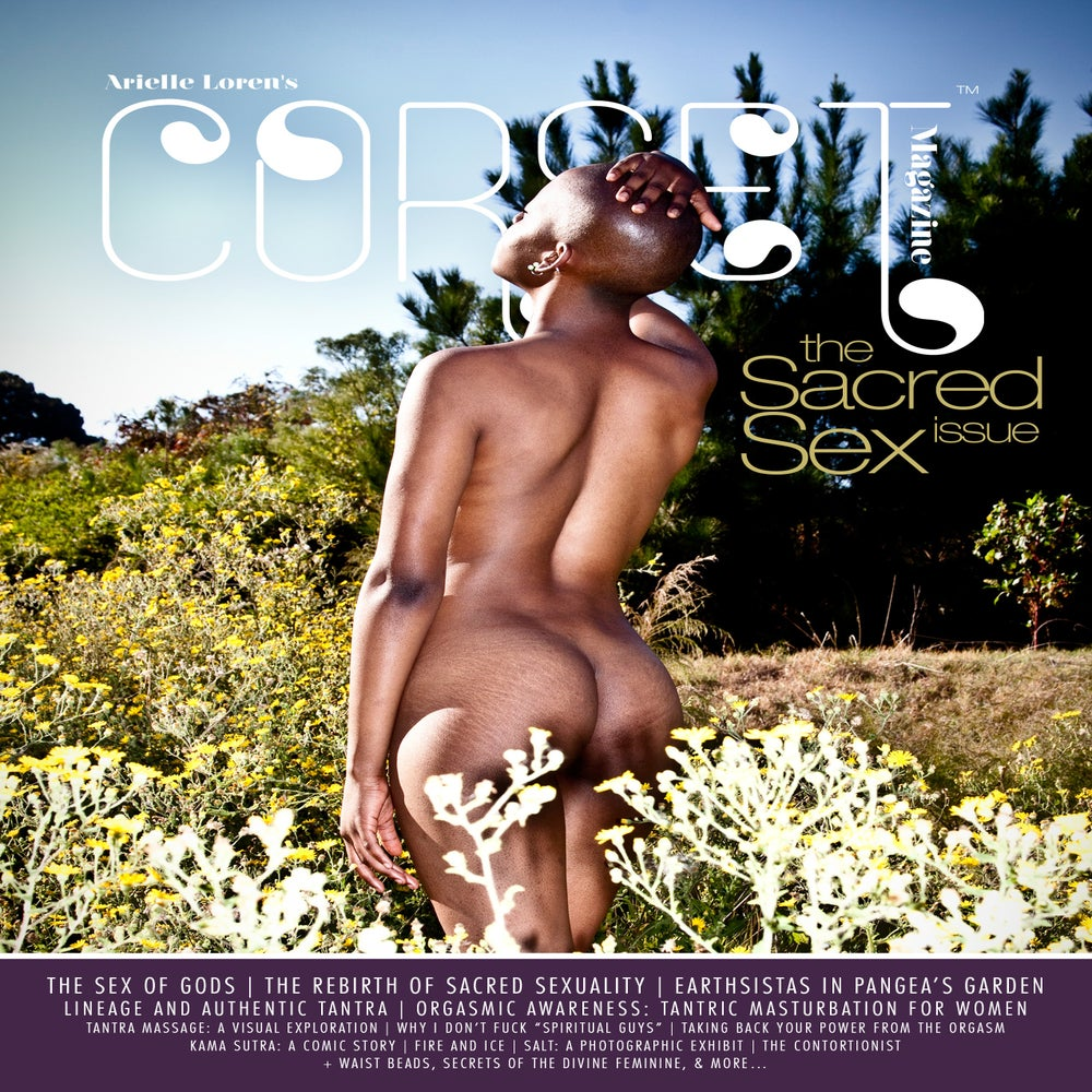 Image of Corset Magazine, Issue 9, Sacred Sex (Digital)