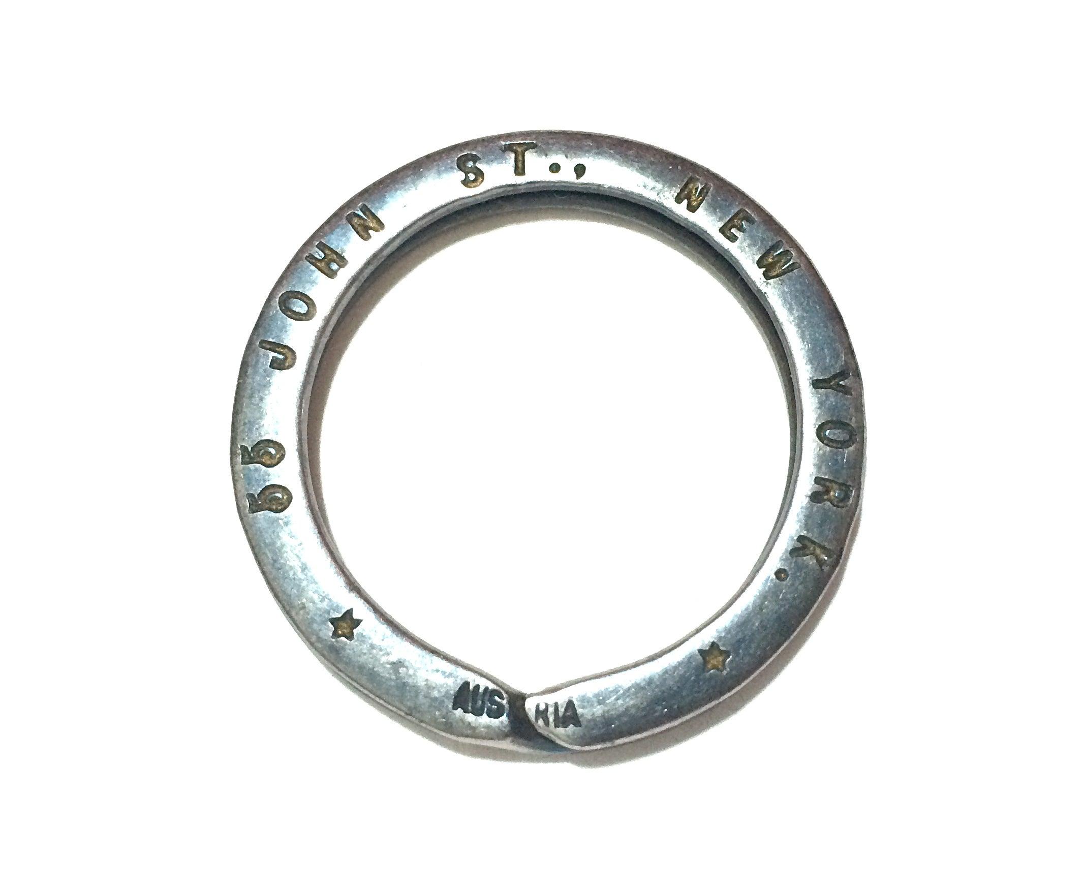 Image of 1920's split key ring