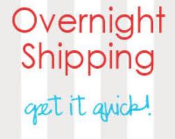 Image of Overnight shipping