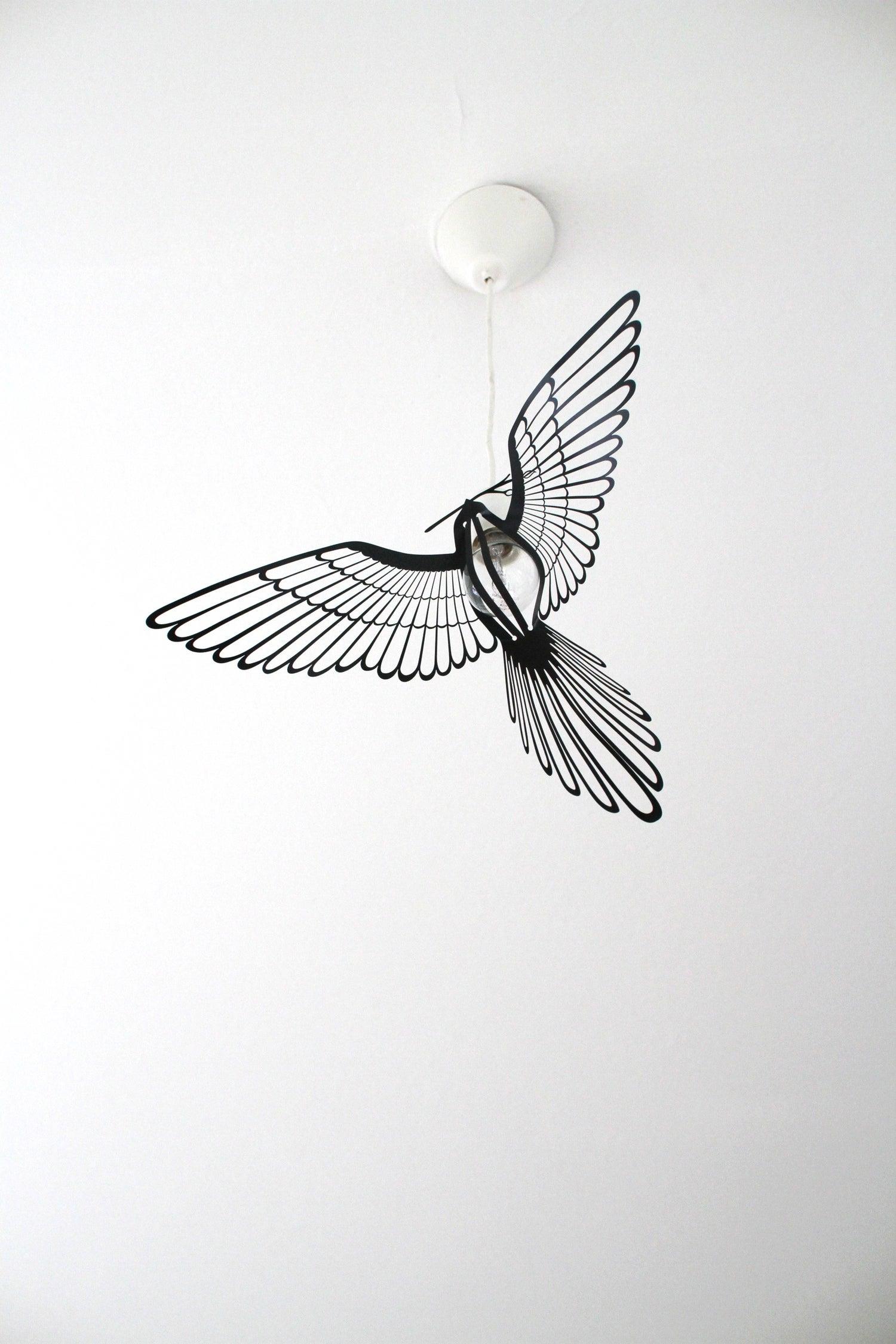 Image of BIRD LIGHT BLACK