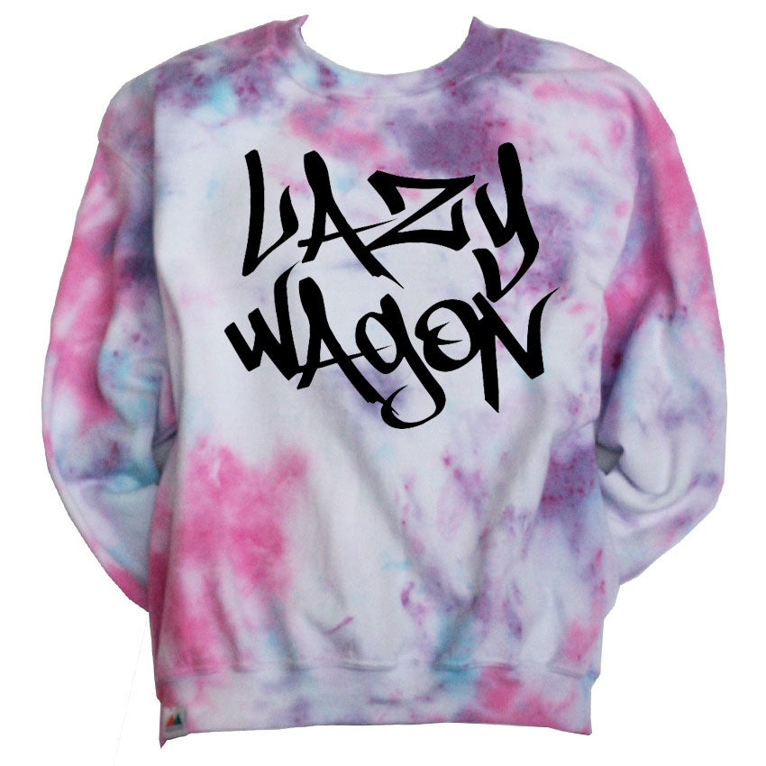 Image of Tie Dye LazyWagon Sweatshirt