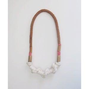 Image of chunky knot neckpiece