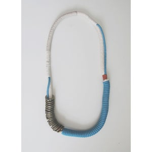 Image of reversible coiled neckpiece