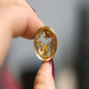 "Gold Flake Plugs (sizes 0g-2"")"