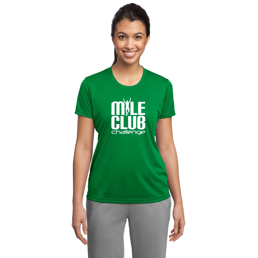 Image of Mile Club Ladies Performance Tee