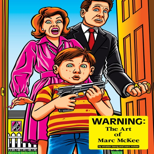 Image of WARNING: The Art of Marc McKee