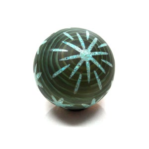 Image of Star Turquoise Inlay Marble