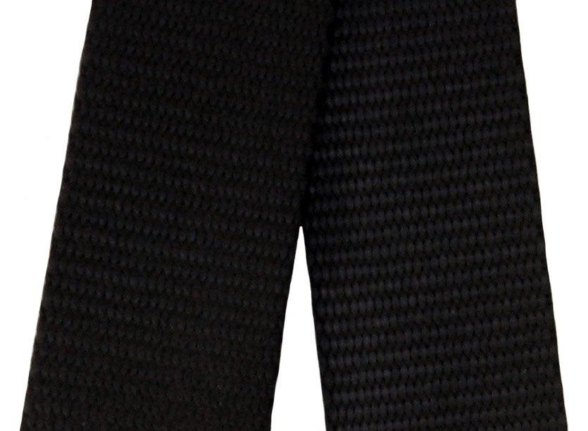 """Image of Nylon Webbing Strap - Adjustable - 1.5"""" (inch) Wide - Choose Color, Length & Nickel/Black #19 Hooks"""