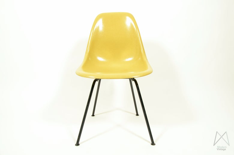 Image of Eames Herman Miller DSX Ochre Light