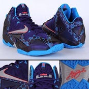Image of Lebron 11s summer lake hornets