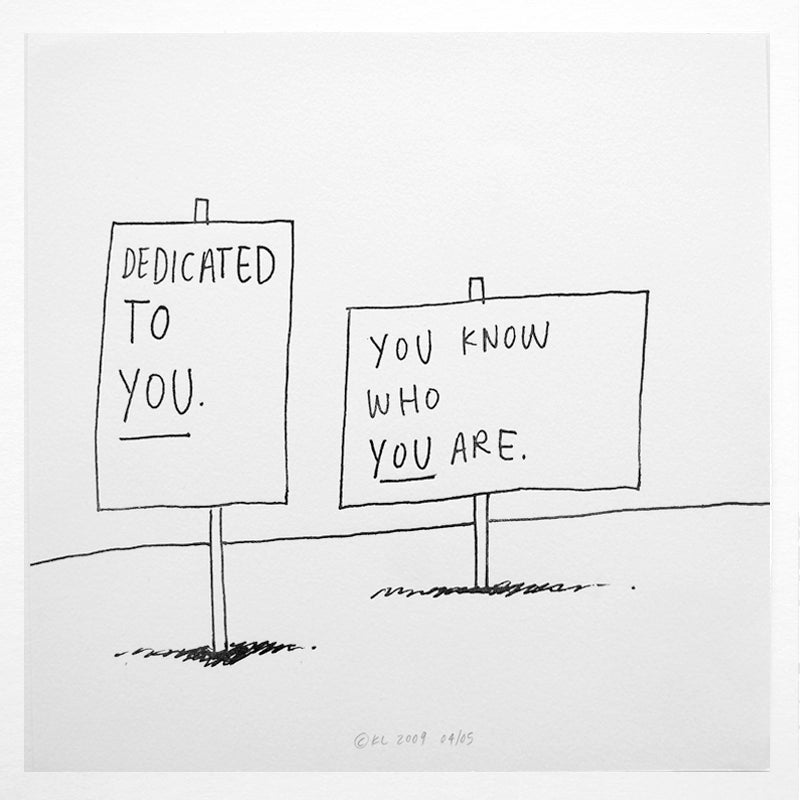 Image of Dedicated To You