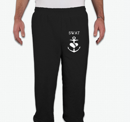 Image of SWAT Sweatpants (Unisex Black)