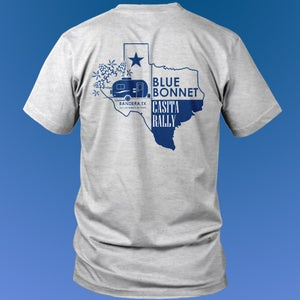 Image of Bluebonnet Rally T-Shirt - No Date - Back Print Only