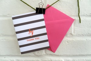 Image of bt {thank you cards}