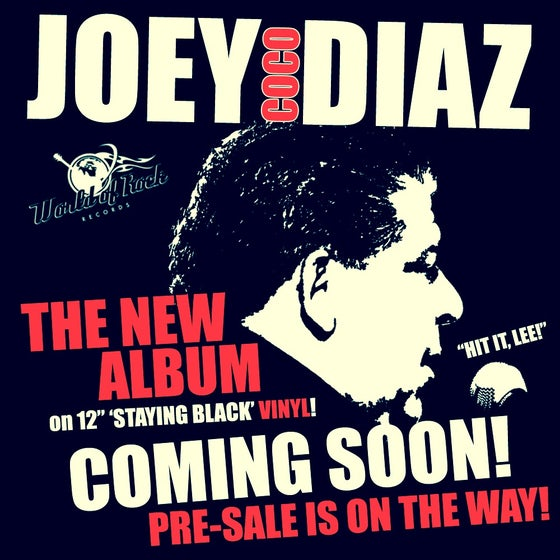 "Image of Joey CoCo Diaz ""Asthma"" Limited Edition 12"" Vinyl (classic black)"