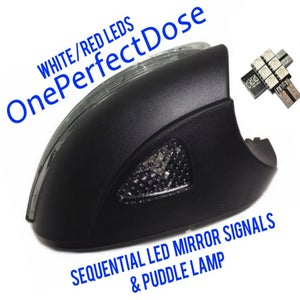 Image of OnePerfectDose:  Sequential LED Mirror Signals and Puddle Lamp LEDs